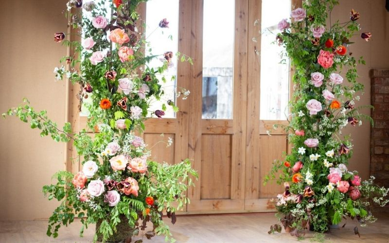 Sustainable Floristry at Barton Court